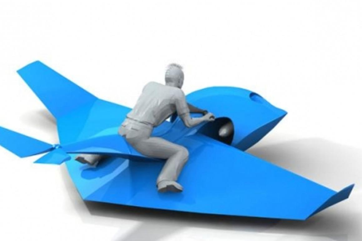 The Skimmer – 100 km/h ground effect recreational water toy