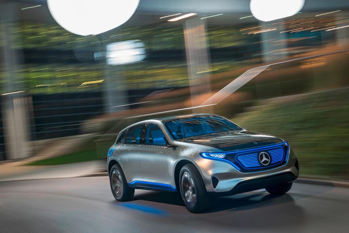 The GenerationEQ's design will carry over to future Mercedes vehicles
