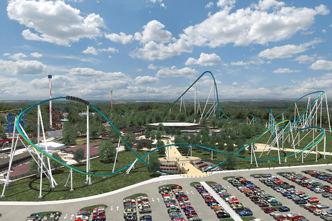 Fury 325: A hornet's nest of a roller coaster