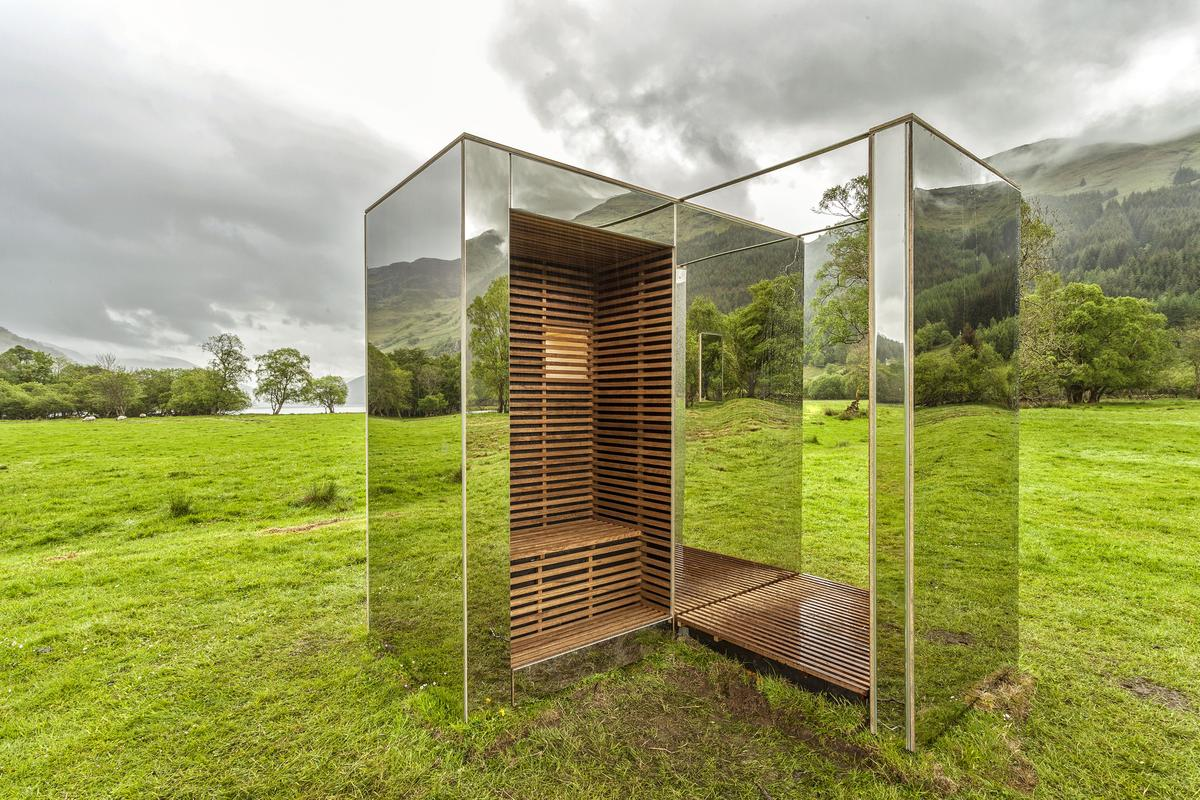 The Lookout, by architectural students Angus Ritchie and Daniel Tyler (Photo: Ross Campbell)