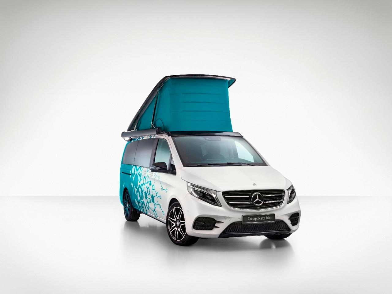The Concept Marco Polo exploresmore integrated camper van control