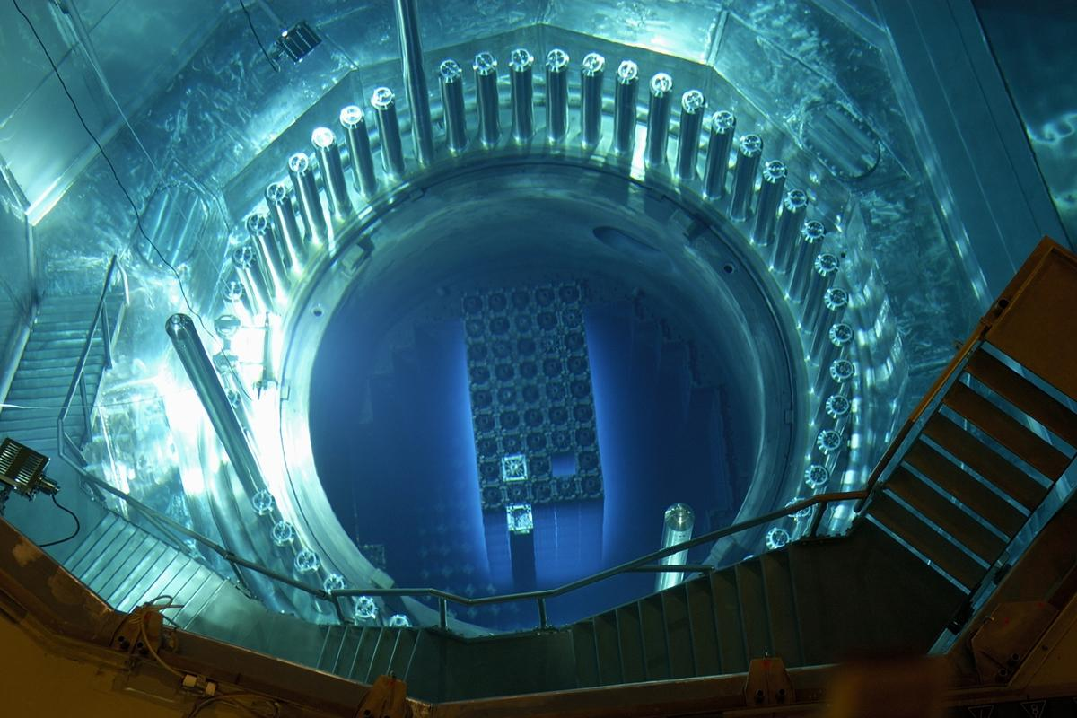 Safety first ... the reactor core of the Gosgen Nuclear Power Plant (Photo: Kernkraftwerk Gosgen-Daniken AG / Creative Commons)