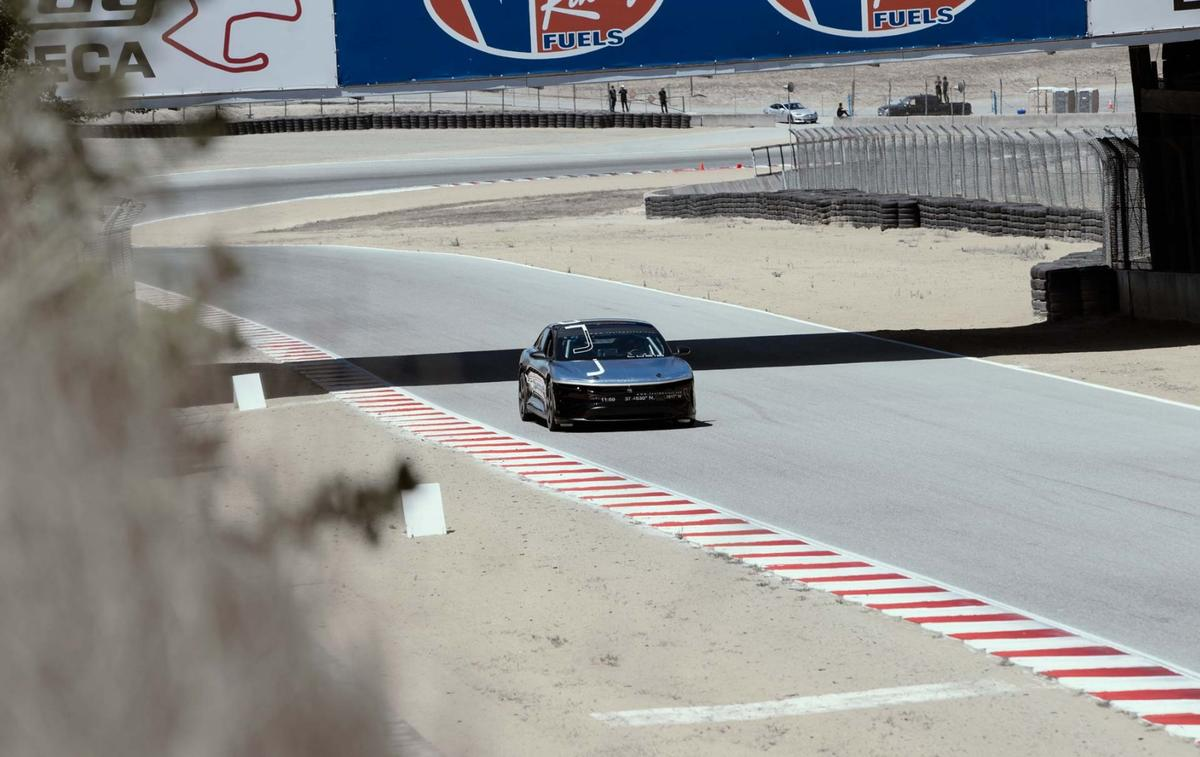 The Lucid Air has put in an impressive lap time at Laguna Seca,but when will it see production?