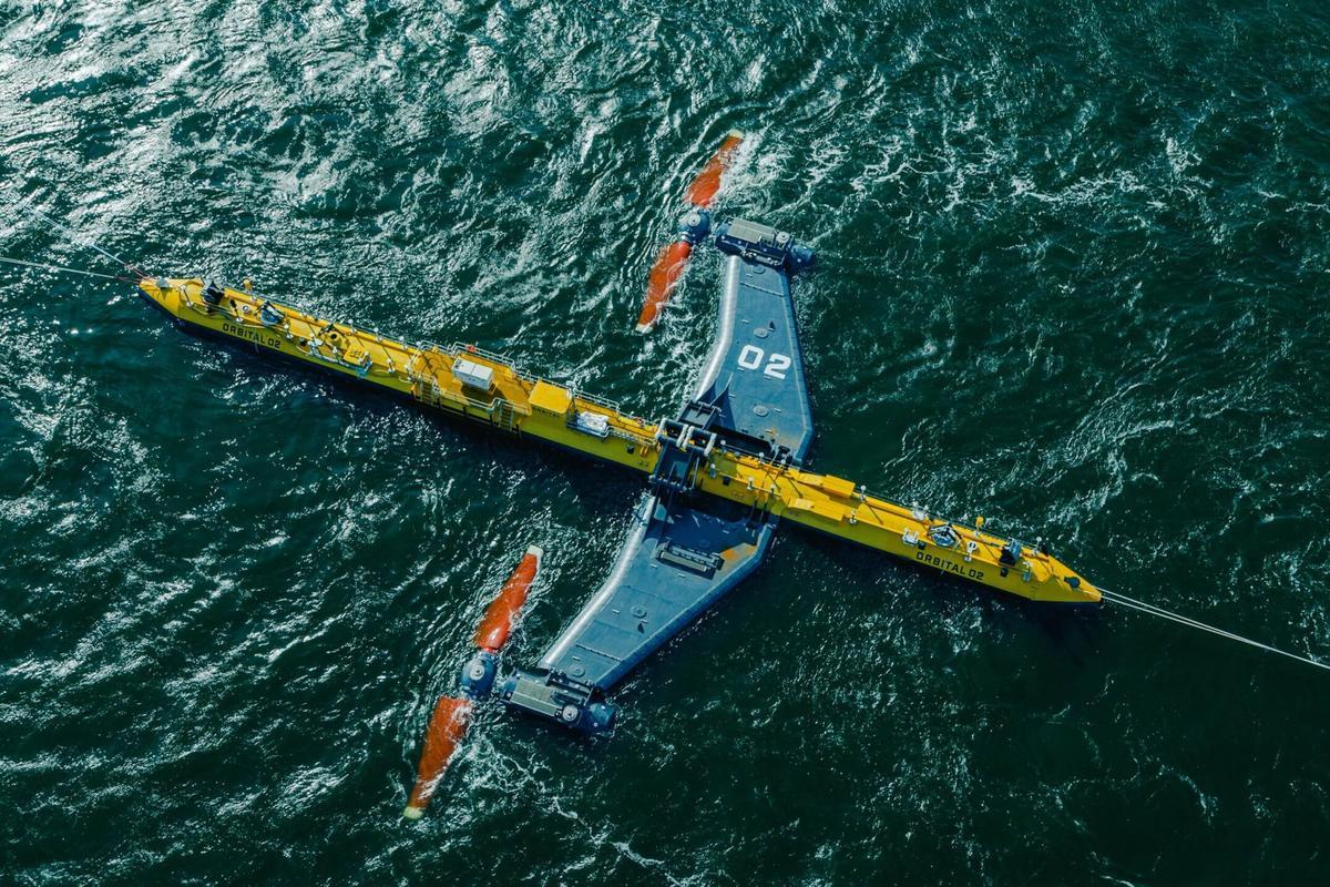 Orbital O2: The World's most powerful Tidal Turbine