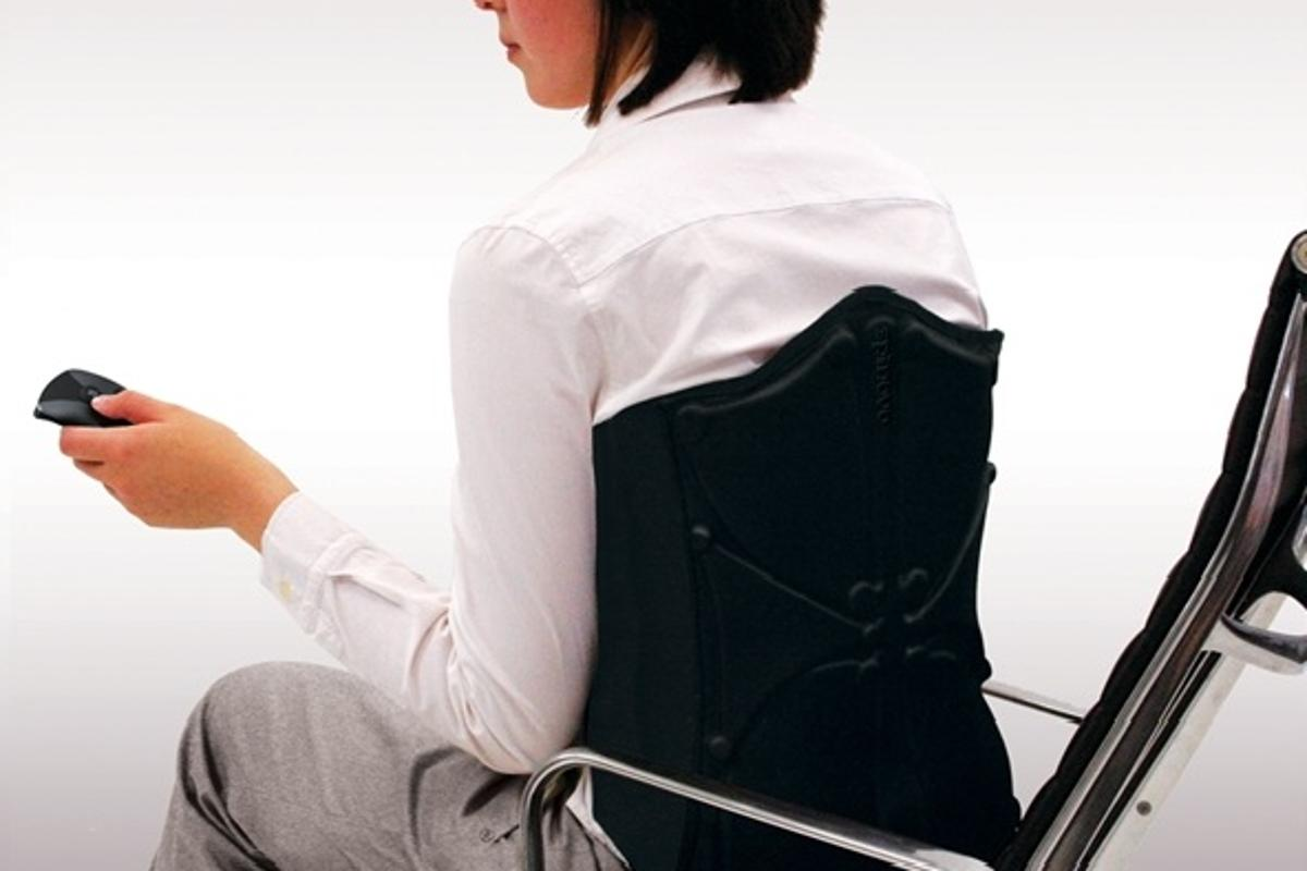 Spinovo wearable back pain relief concept