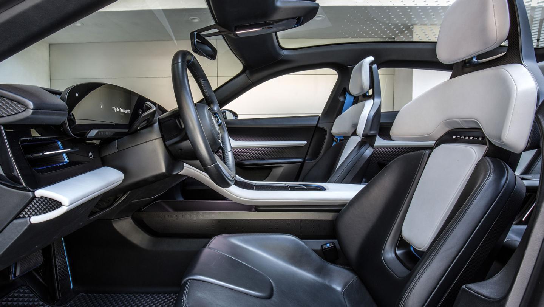 Inside the Porsche Mission E Cross Turismo concept
