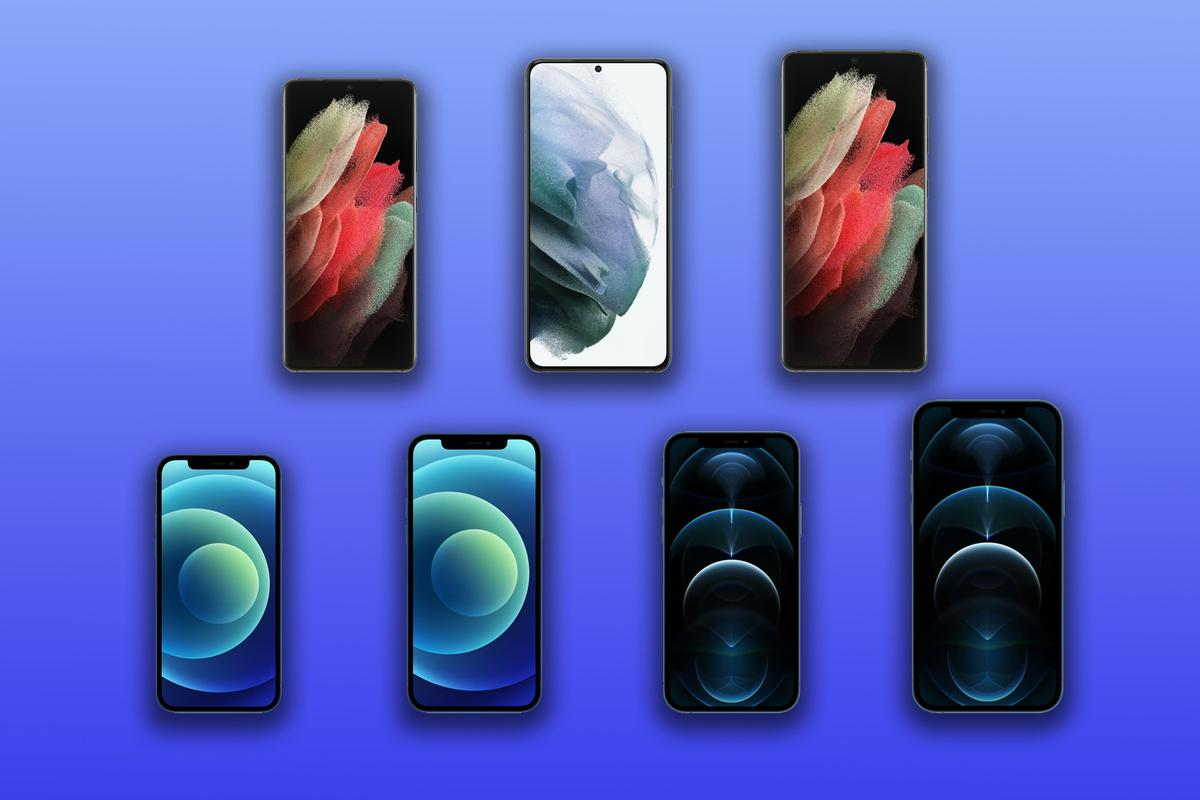 New Atlas compares the specs and features of the Galaxy S21, S21+ and S21 Ultra vs the iPhone 12, 12 mini, 12 Pro and 12 Pro Max