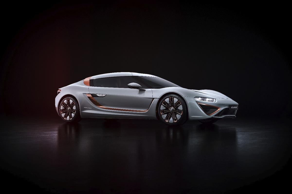 The Quant 48Volt will make its debut at the 2017 Geneva Motor Show next month