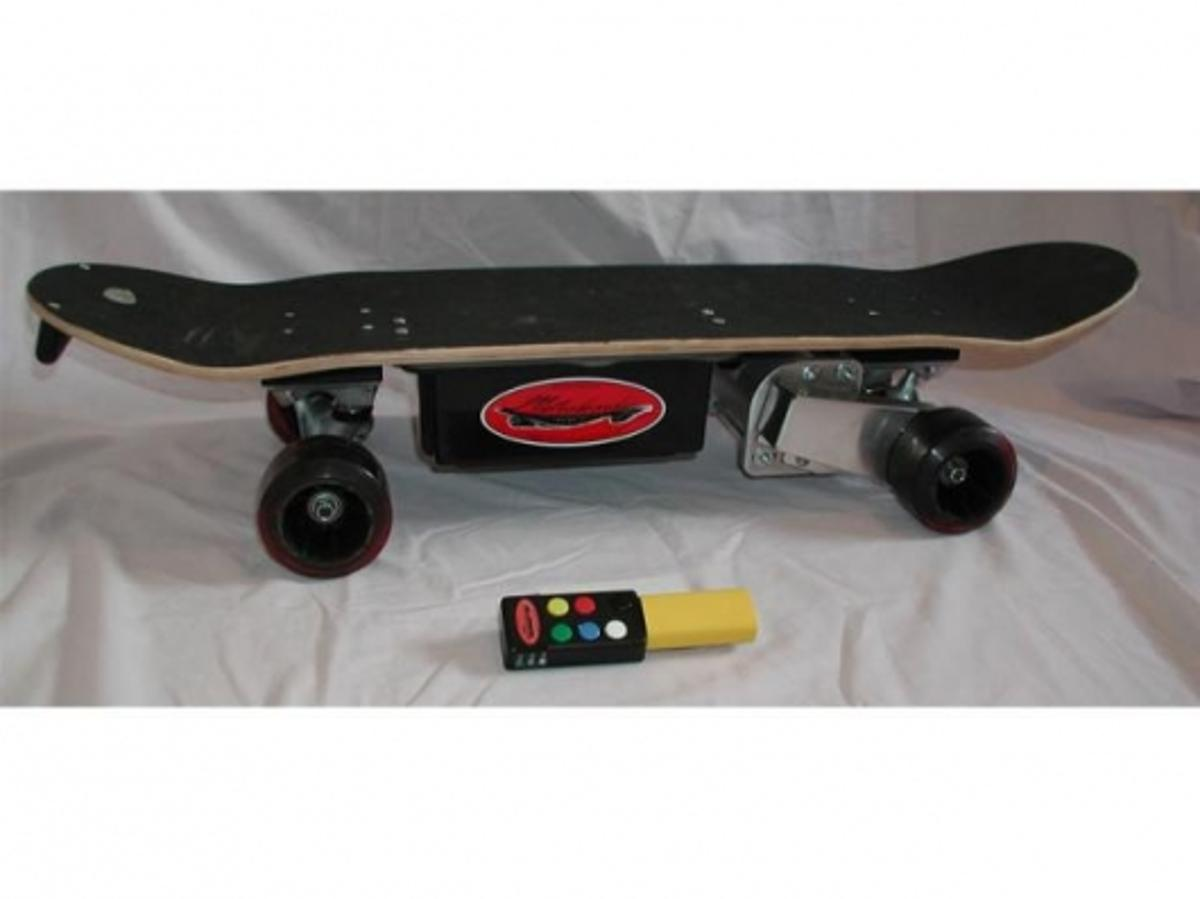 The Metroboard electric skateboard