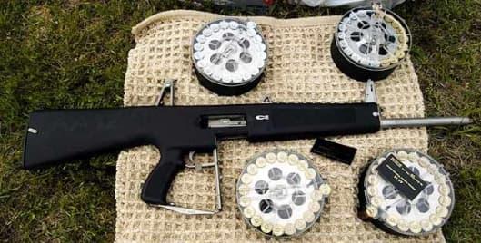 The AA-12 combat shotgun