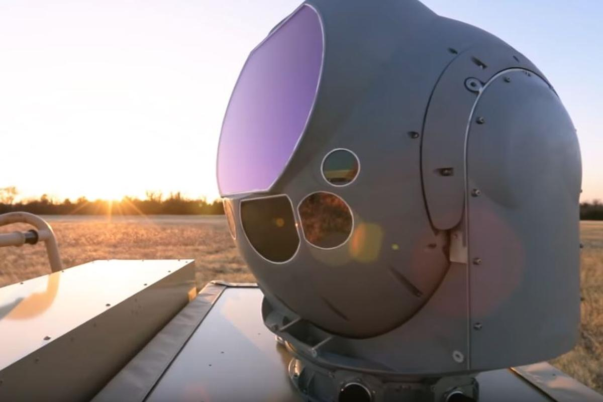 The Raytheon HELWS uses a Multi-spectral Targeting System