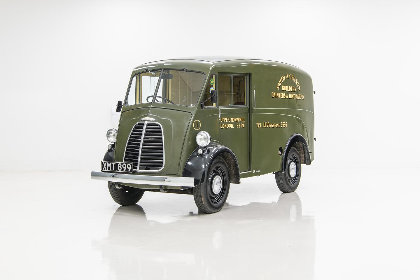 The original Morris J-type inspired the all-new JE electric van from the recently-revived Morris Commercial