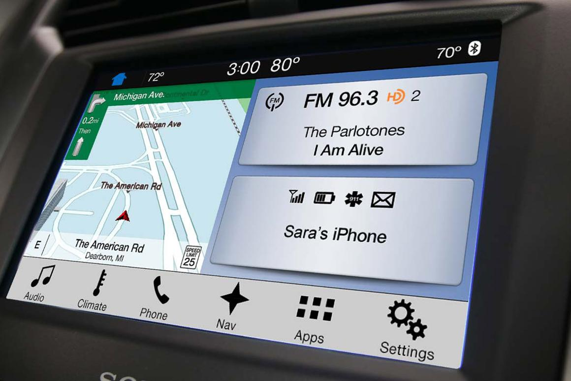 Ford's new Sync 3 system
