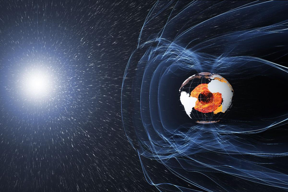 A new study has made use of data gathered by ESA's Swarm satellites, which have been studying the Earth's magnetic field for more than two years