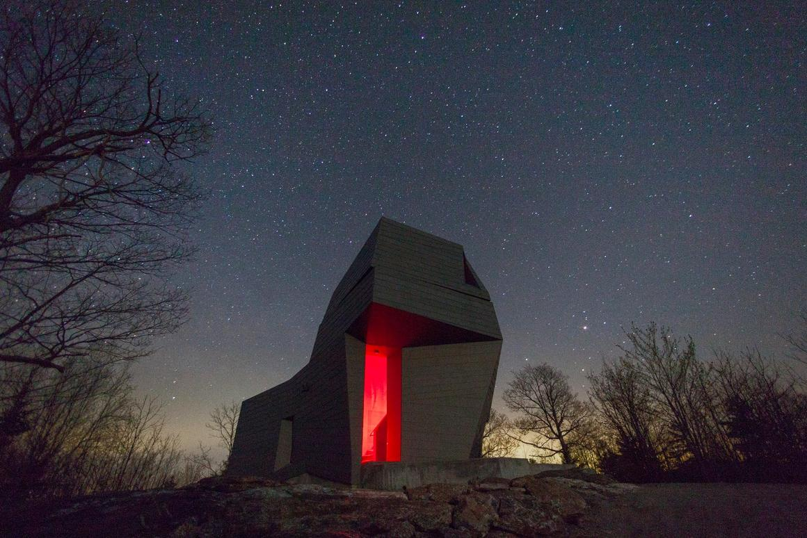 Gemma Observatory sits in a remote New Hamshire location