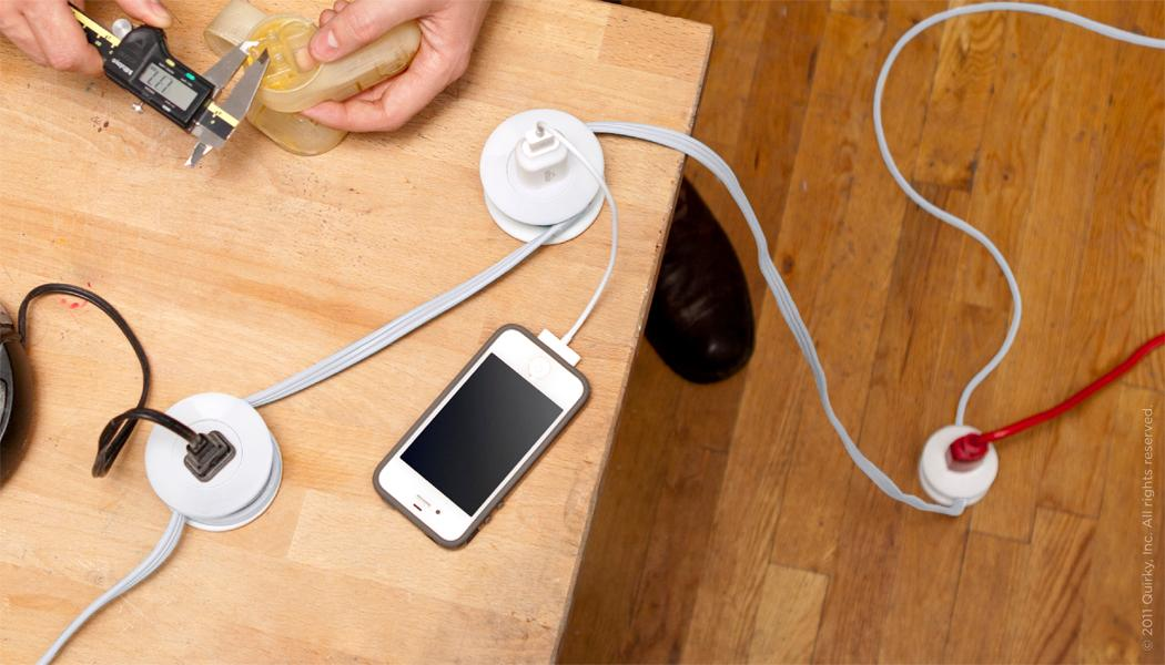 Pod Power multi-outlet extension cord