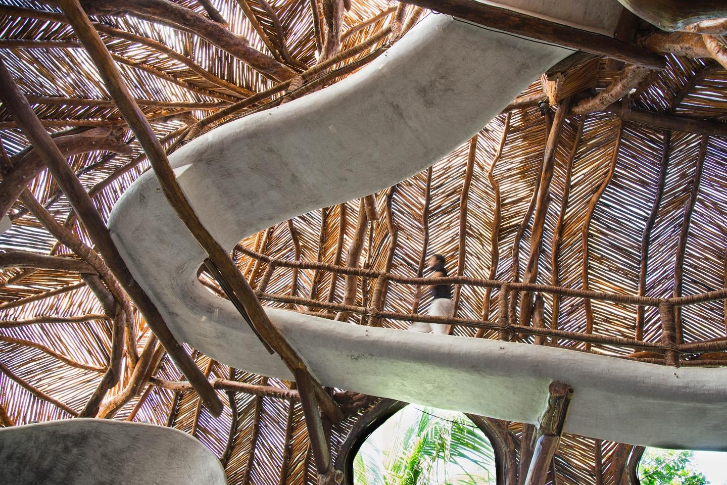 Art lovers passing through the popular vacation town Tulum on Mexico's Yucatan Peninsula have an incredible new space in which they can indulge the senses, the IK Lab at the Azulik Resort
