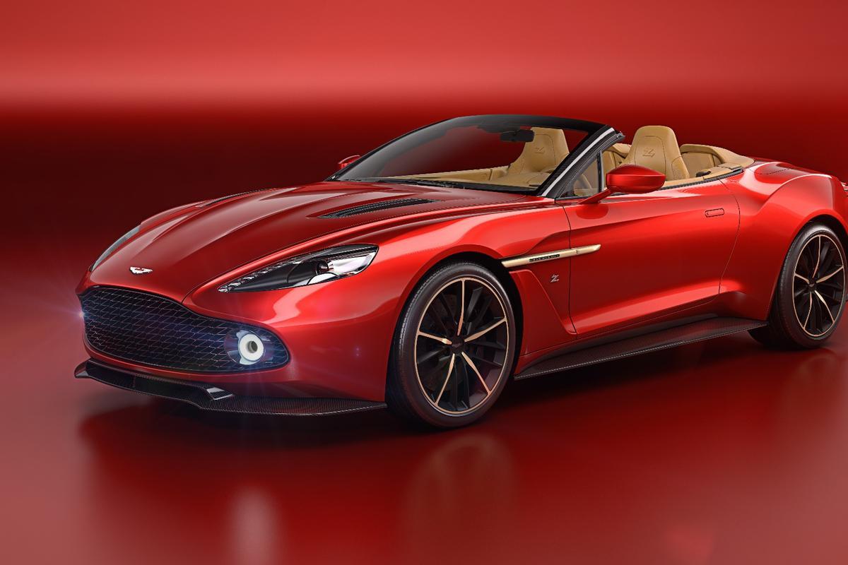 Aston Martin has given its Vanquish Zagato a topless Volante companion
