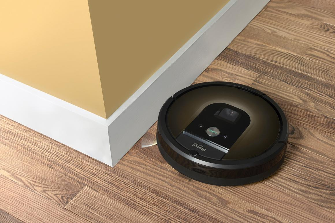 The Roomba 980 has a new visual navigation system that allows it to map out a cleaning area