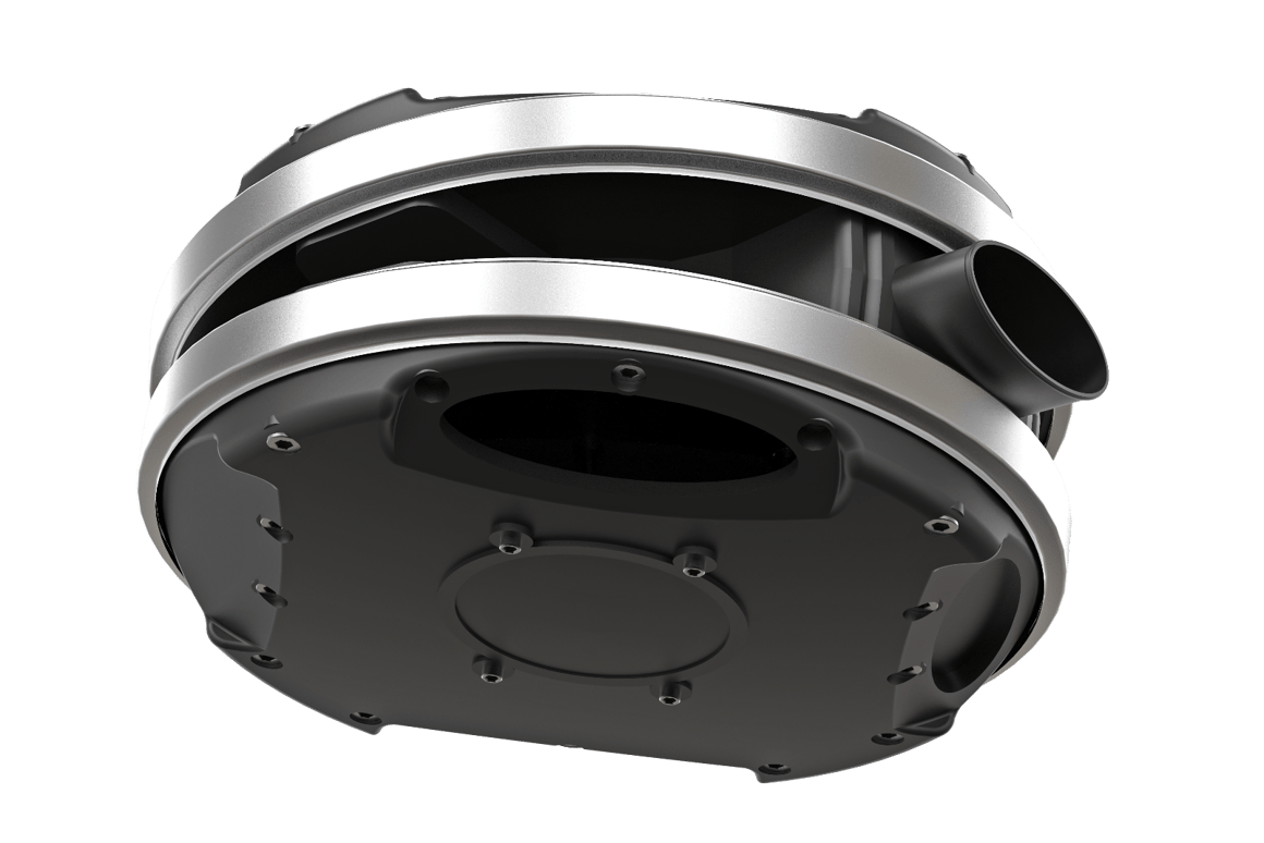 Bolt-on drum charger boosts motorcycle power and torque up
