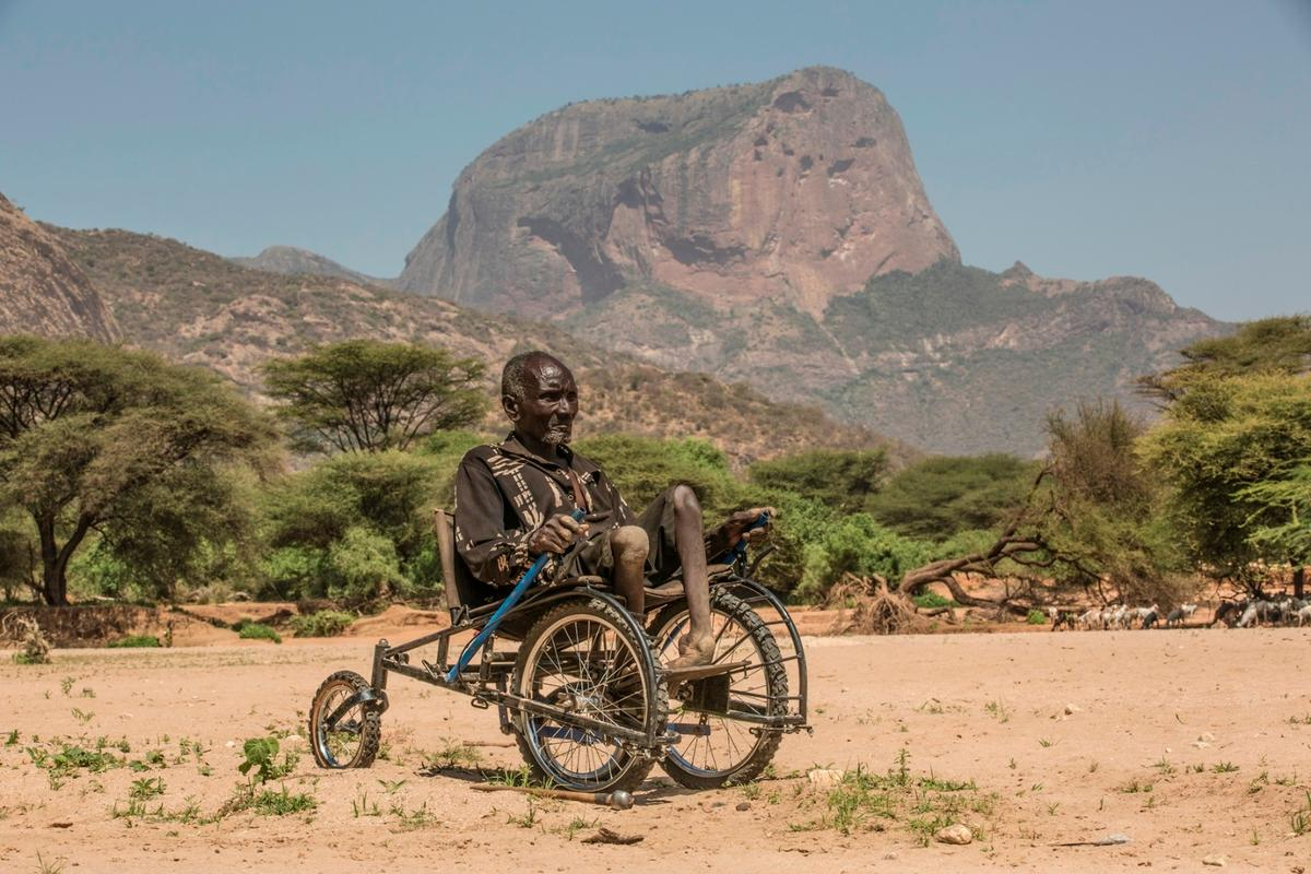The SafariSeat in action