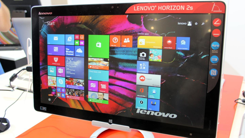 The new Lenovo Horizon 2s from the show floor at IFA