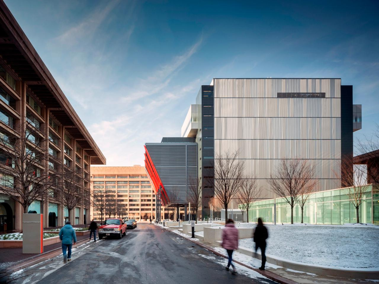 Washington DC's International Spy Museum recently moved into an all-new building, designed by Rogers Stirk Harbour + Partners, in collaboration with Hickok Cole