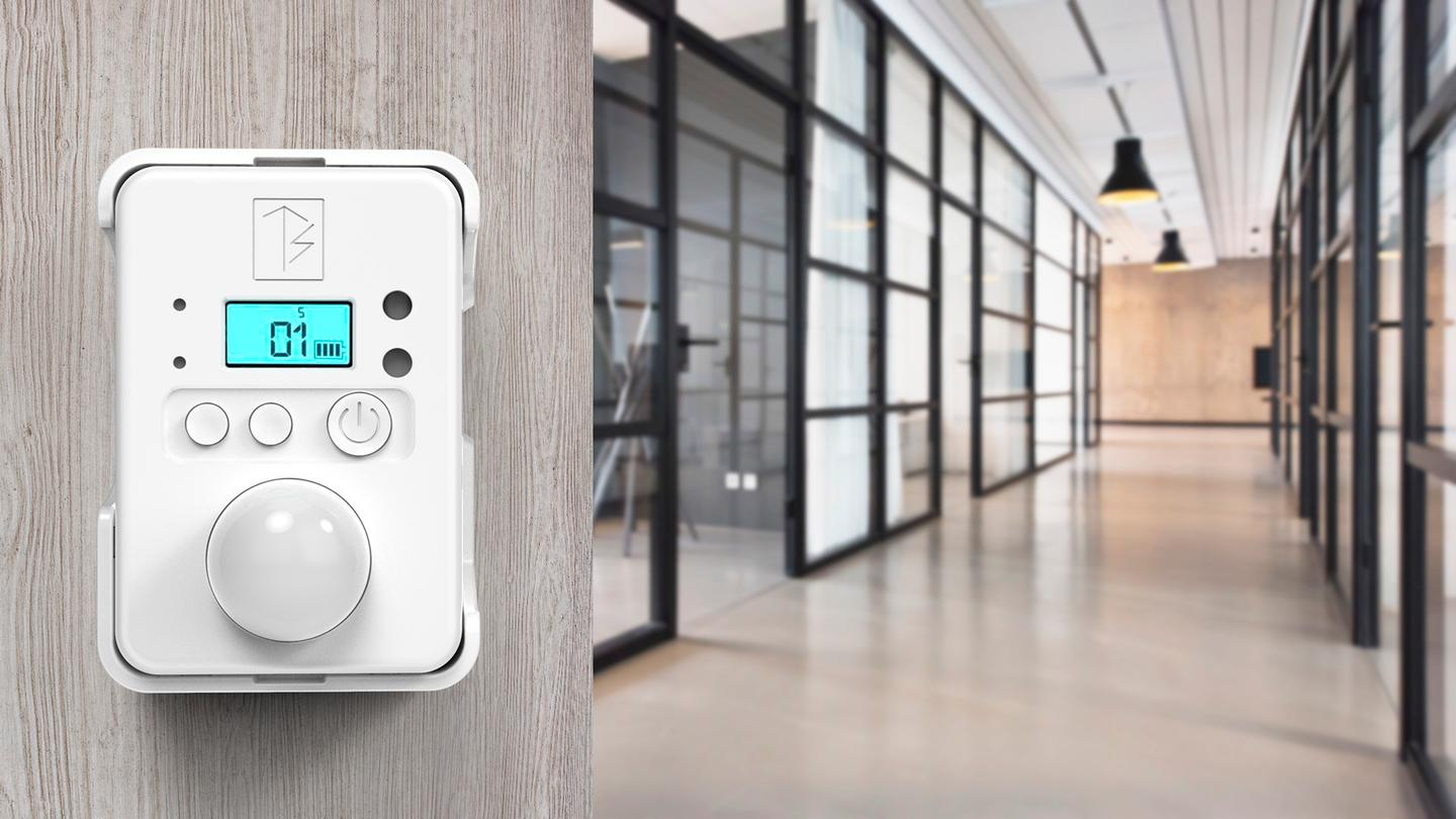 The All-In-Sensor can be used in the home, office, or even car