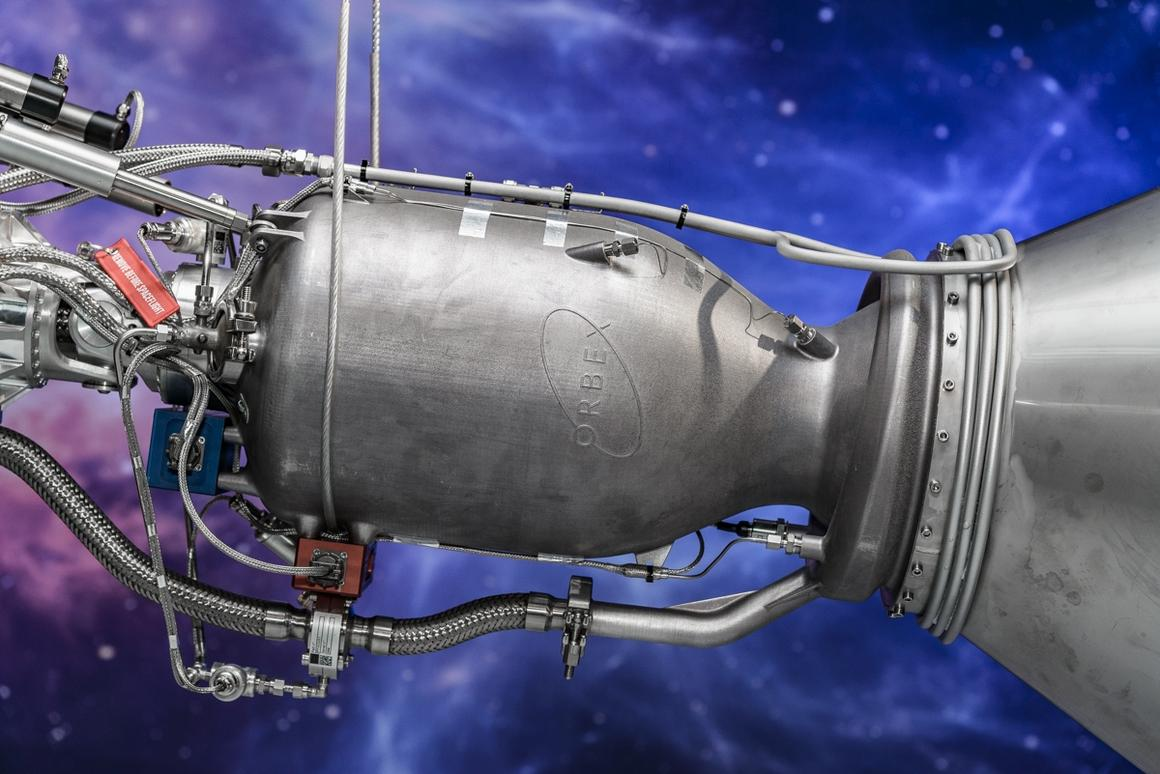 Orbex unveils world's largest 3D-printed rocket engine