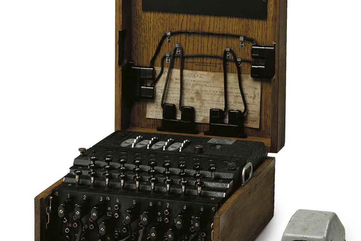 The Enigma M4 was one of Nazi Germany's most closely guarded secrests