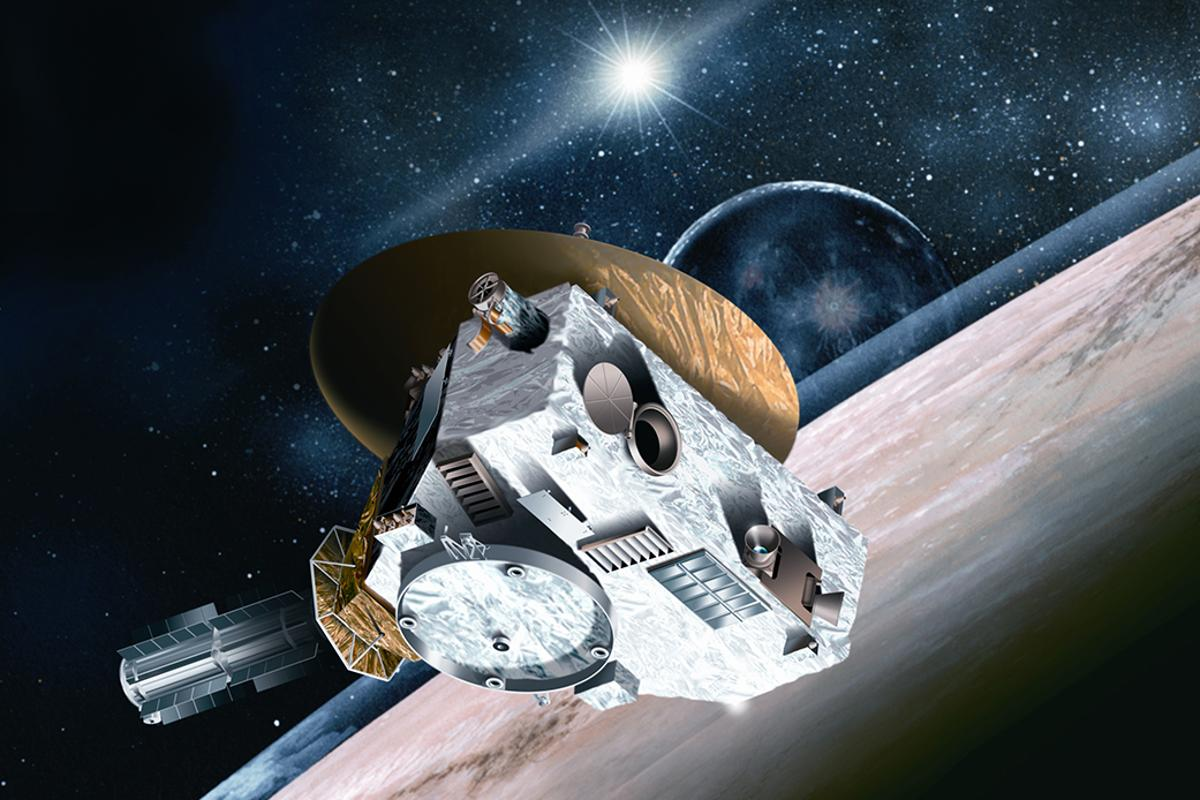 Artist's impression of New Horizons