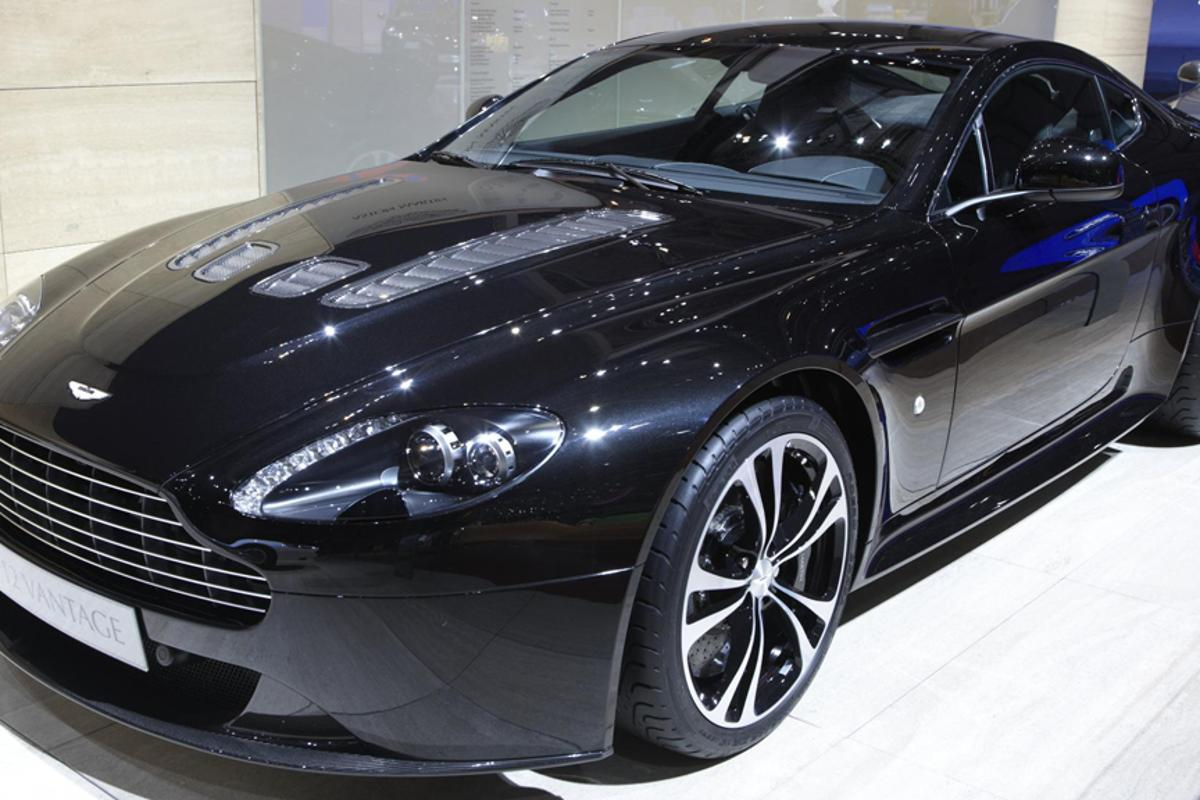 The Aston Martin V12 Vantage Carbon Black Edition