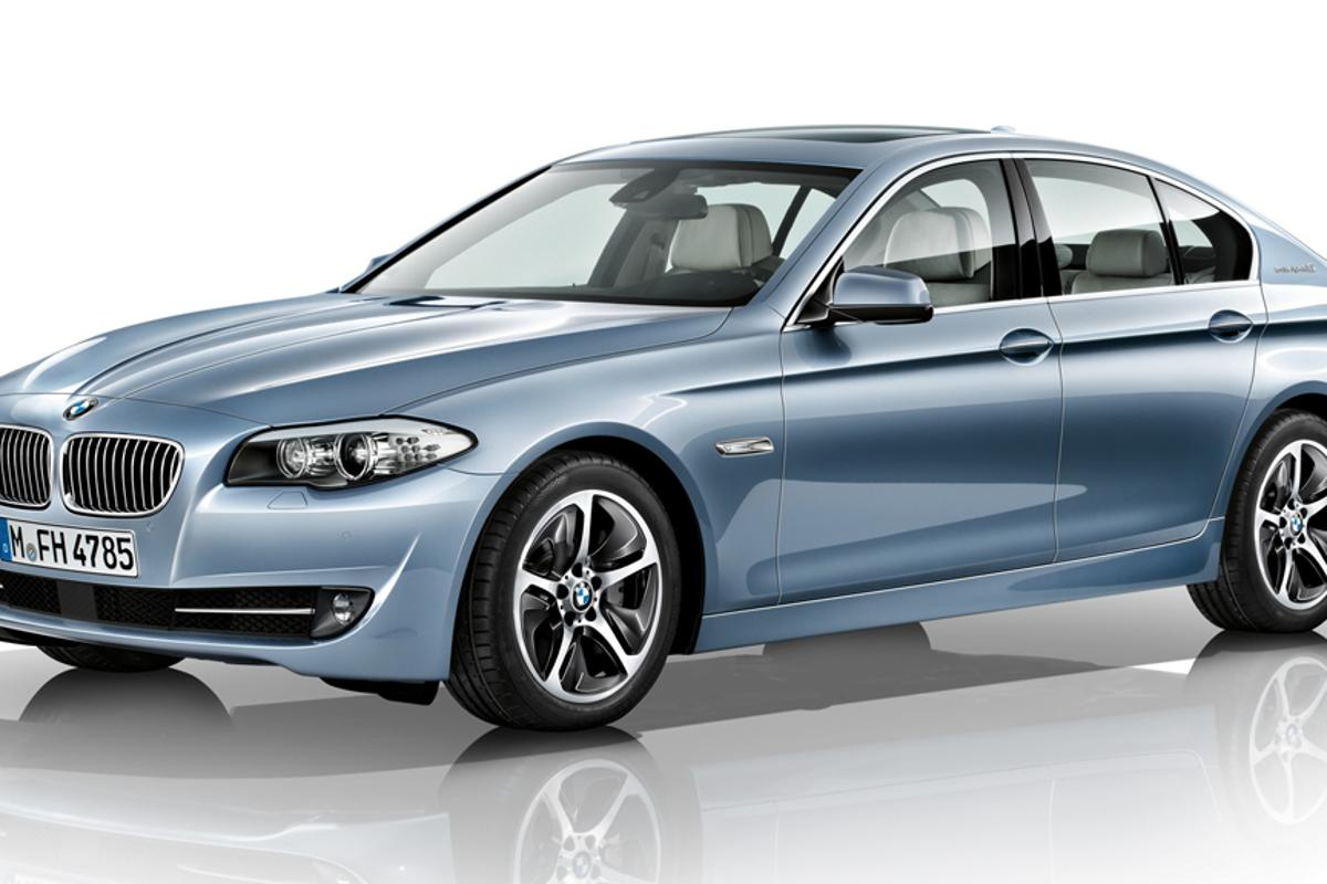 The ActiveHybrid 5 is the first hybrid in BMW's 5 Series