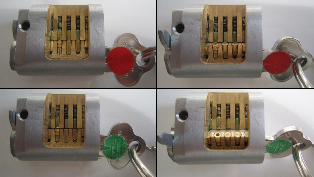 The inner workings of the Matrix Key System