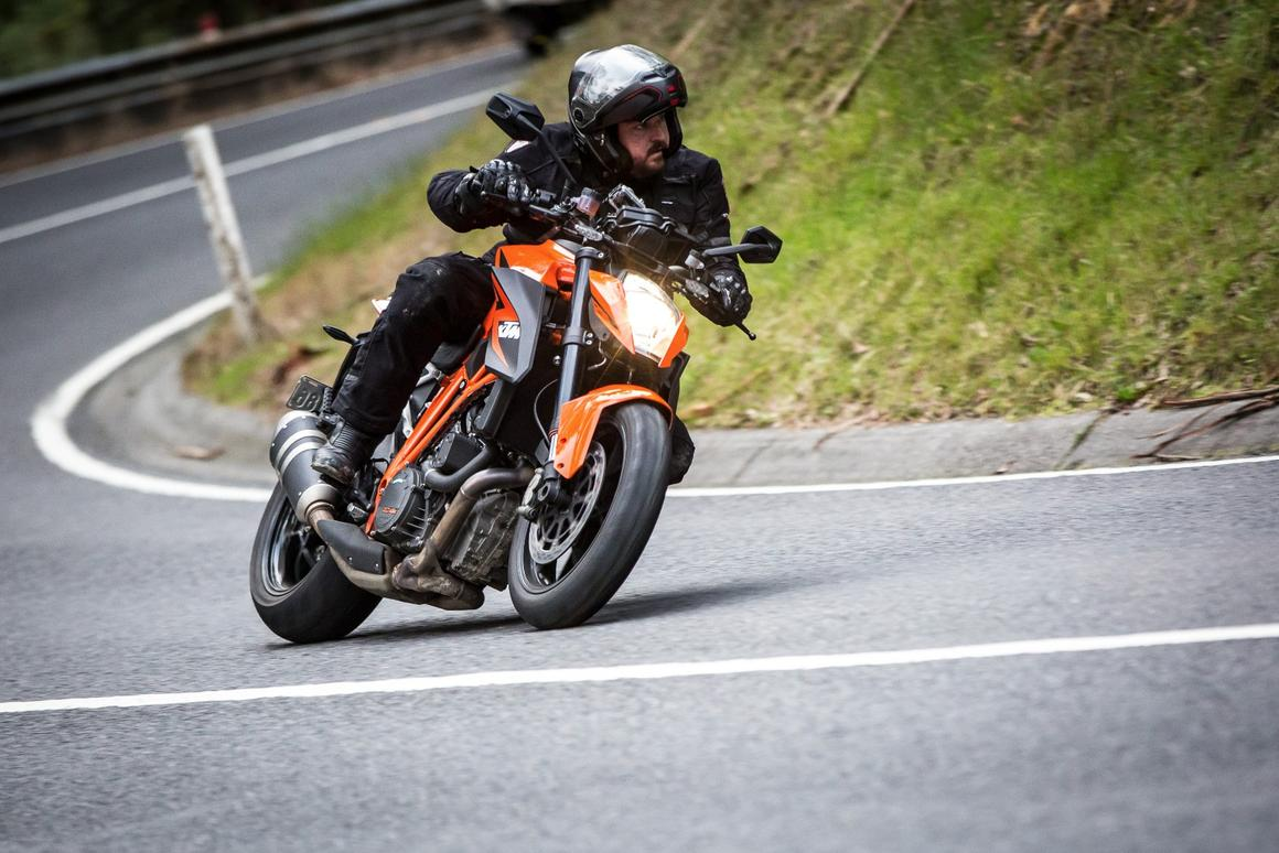 KTM's 1290 Super Duke R falls mercifully short of expectations