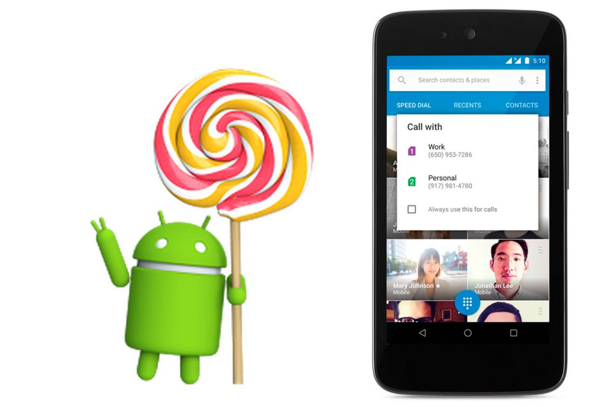 Today Google announced Android 5.1, a minor update to Lollipop