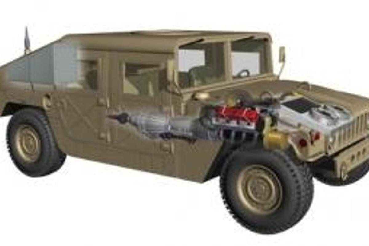 New power system proposed for the Humvee