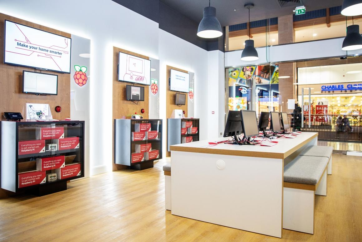 The first Raspberry Pi retail store is open for business in Cambridge, UK