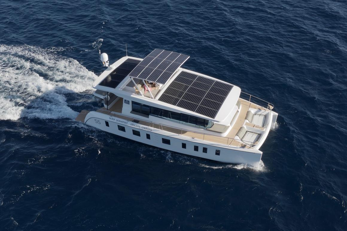 Silent 55 yacht promises up to 100 miles of solar-powered