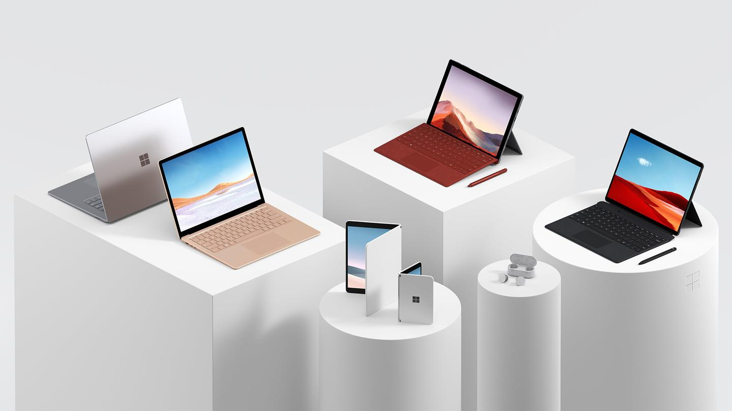 The new Surface hardware line-up for 2019 (and 2020)