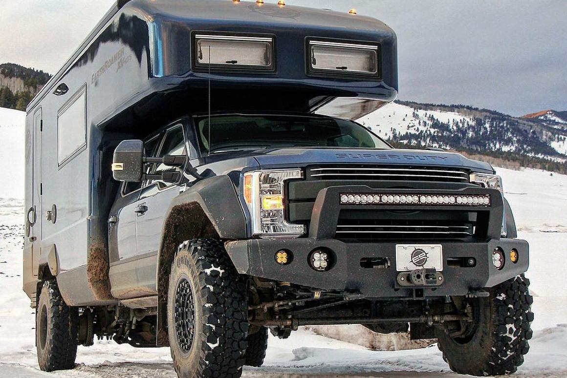 EarthRoamer XV-LTS expedition vehicle gets even meaner
