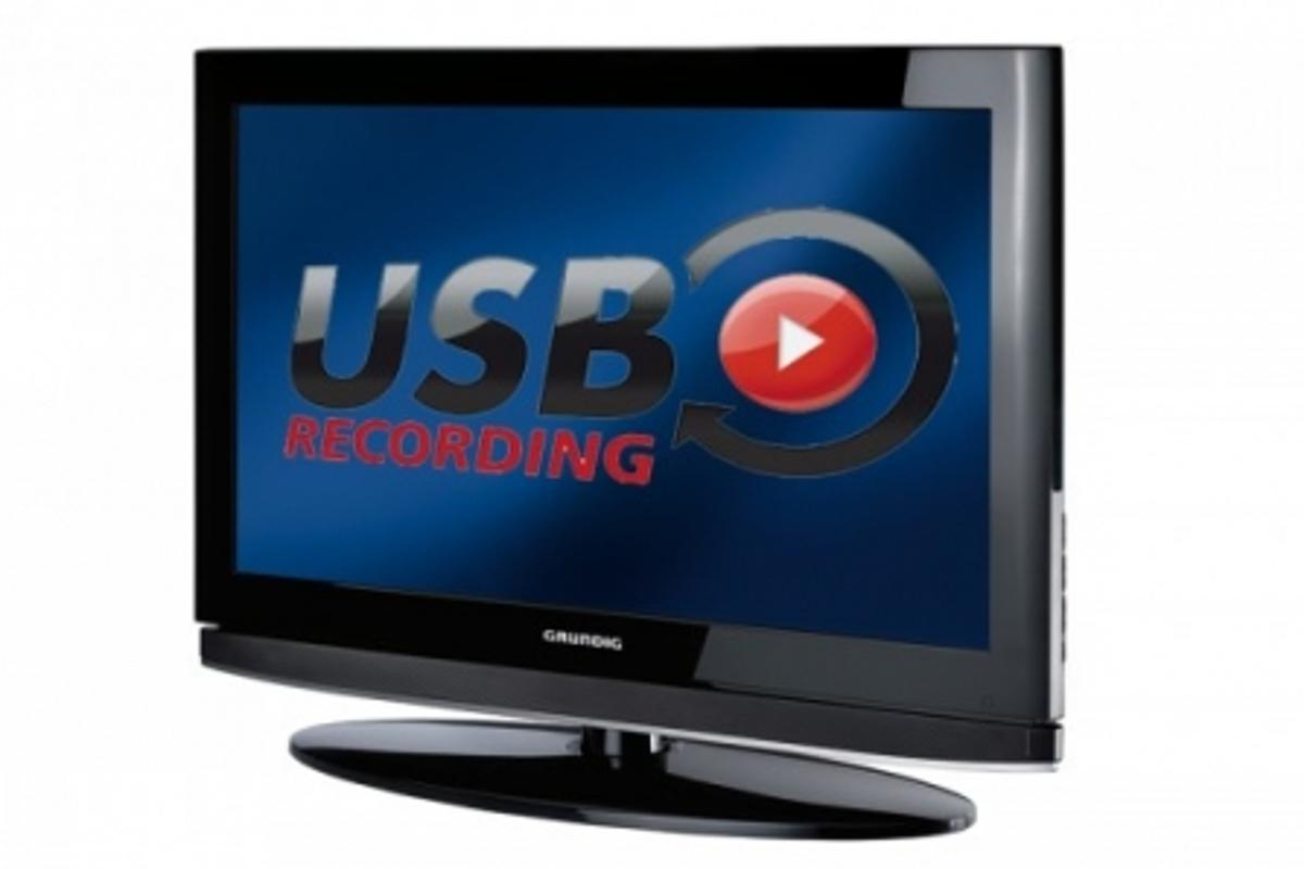 Grundig's Vision 9 series TVs can function as a PVR using the new USB recording function