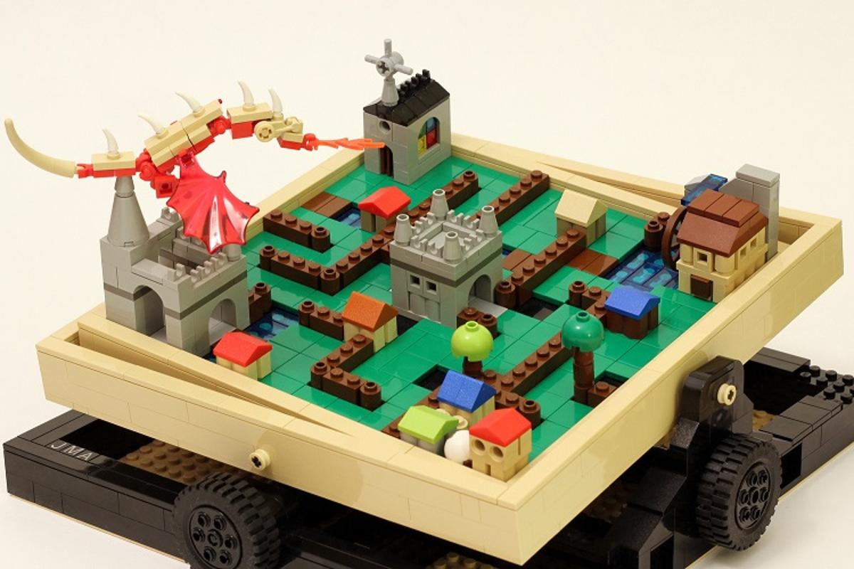 The Labyrinth Marble Maze will be worked up to a final design by Lego, with pricing and availability yet to be announced