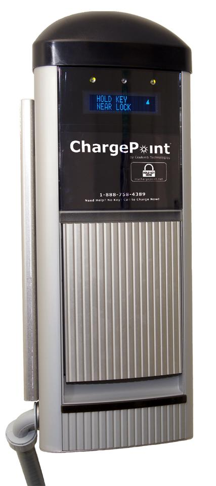 Coulomb Technologies CT1000 Charging Station