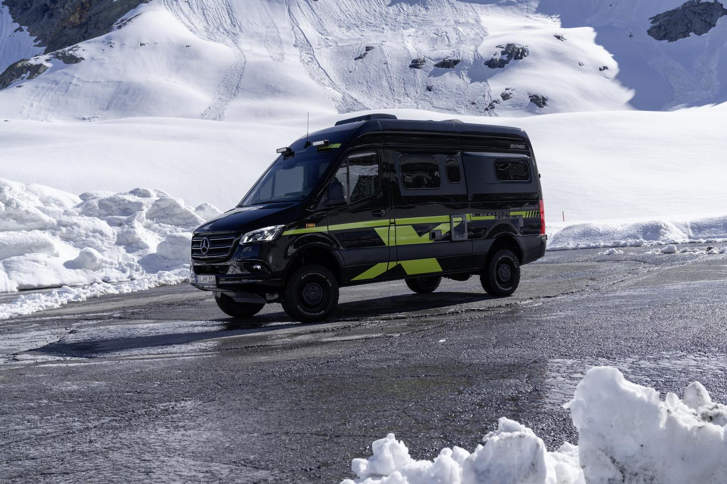 Hymer steps up its 4x4 game with the new CrossOver editions