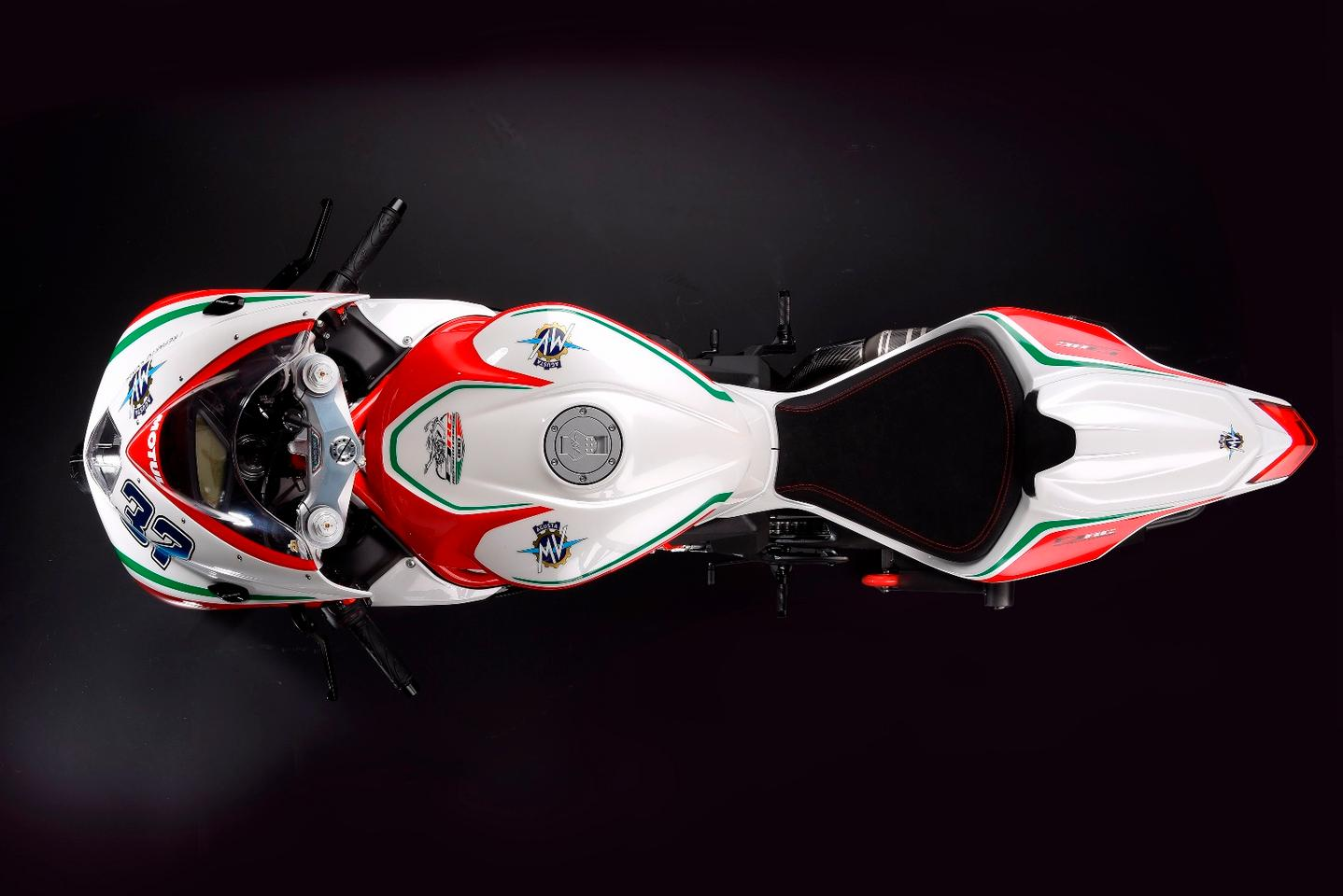 The MV Agusta F3 675 and 800 RC are primarily designed for the race track