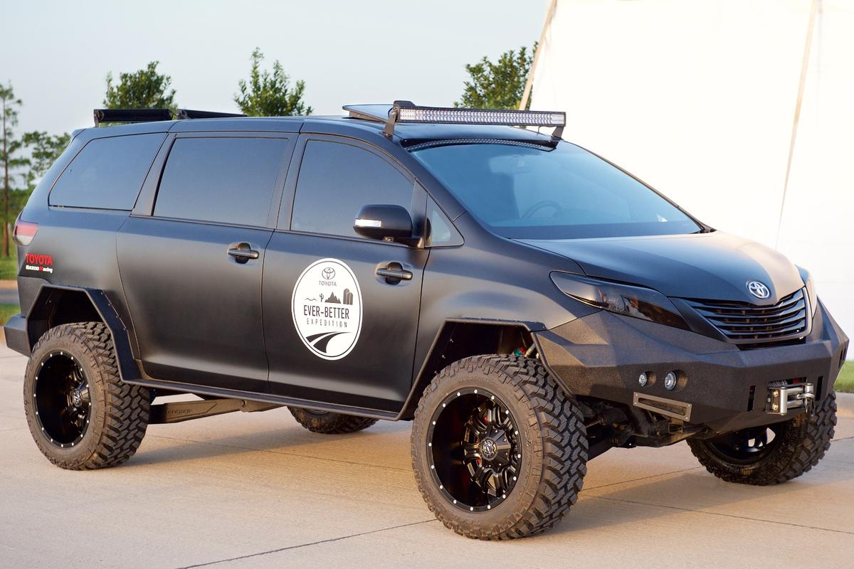 The Ultimate Utility Vehicle is traveling across North America and will show up at the SEMA Show later this year