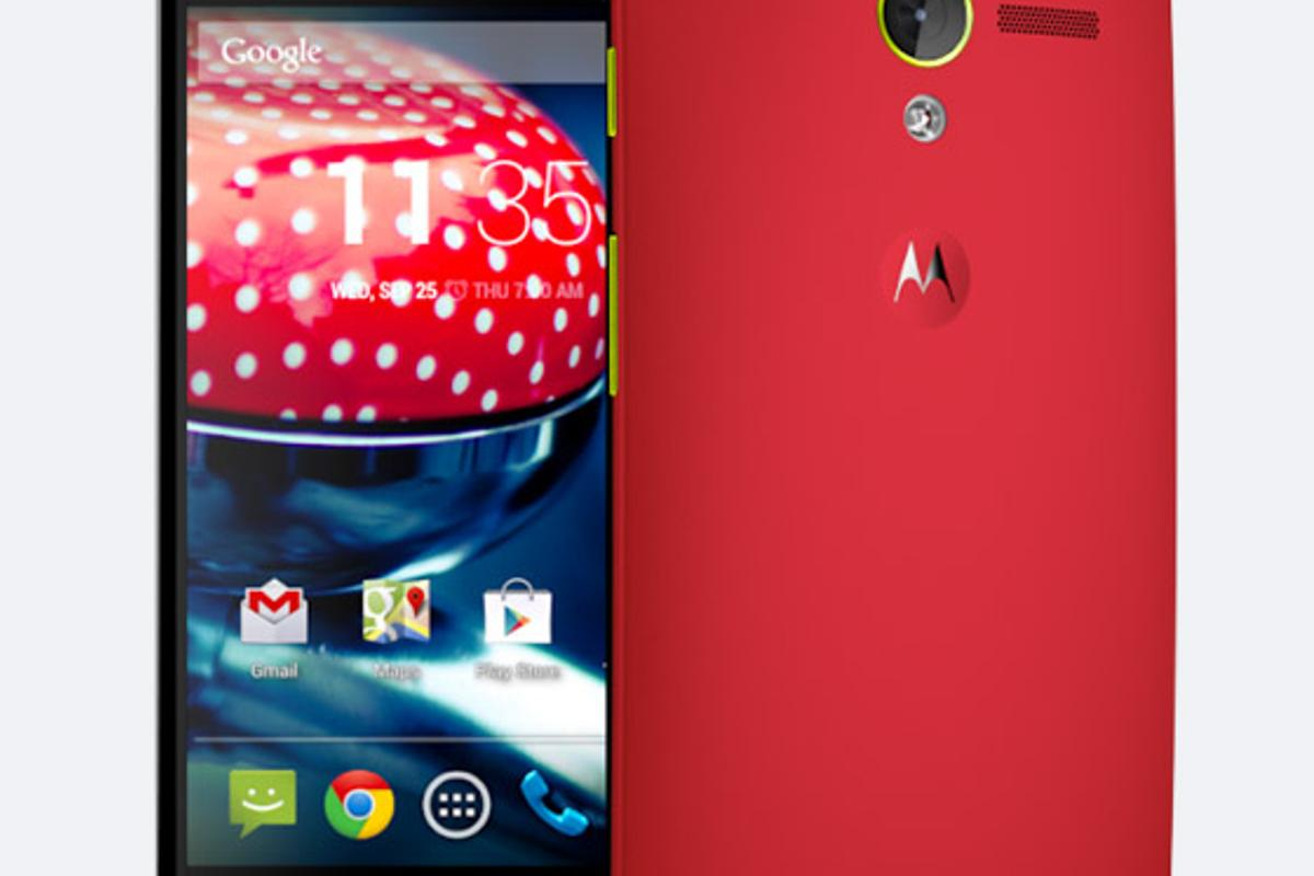 One of the suggested design themes for the Moto X