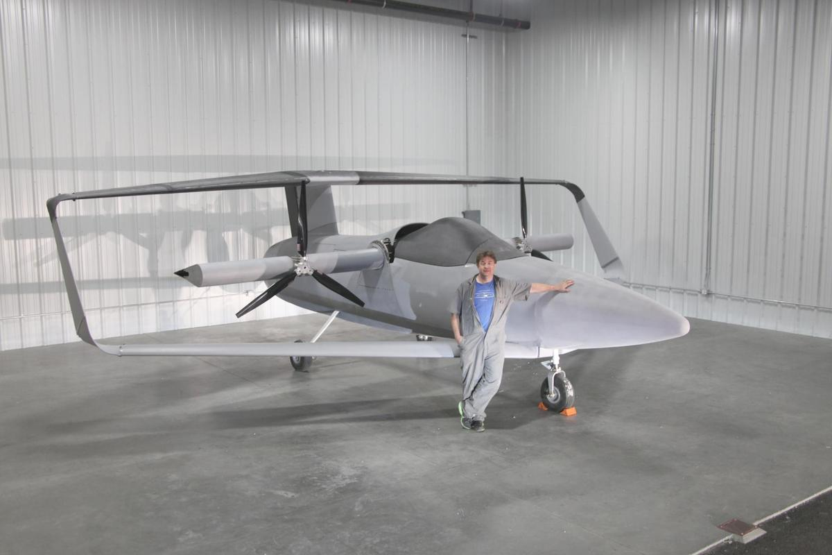 The Elytron 2S demonstrator concept's airframe was recently completed