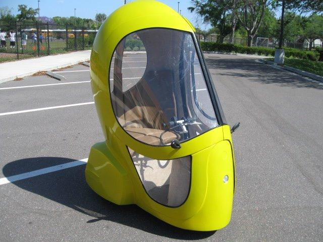 Eggasus is a new personal transport solution for urban areas and university campuses